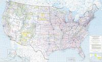 US National Highways Map