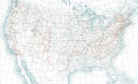 US Physical Divisions Map