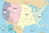 US TImezone Map